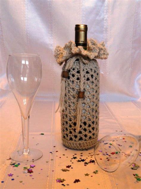 knitting pattern wine bottle cover crochet wine bottle cover pattern free sale crochet