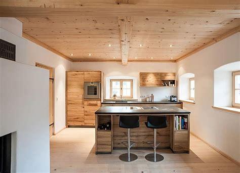 wohnideen landhaus modern landhaus modern on k 252 che eiche massiv modern