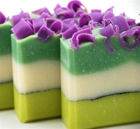 Etsy Handmade Soap - roses and pansies pretty soaps