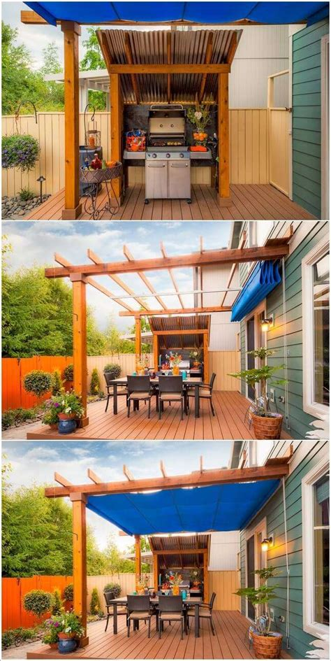 backyard grill area 15 cool ways to design a barbecue grill area