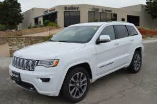 2017 new jeep grand cher overland 4x2 at bailey auto plaza