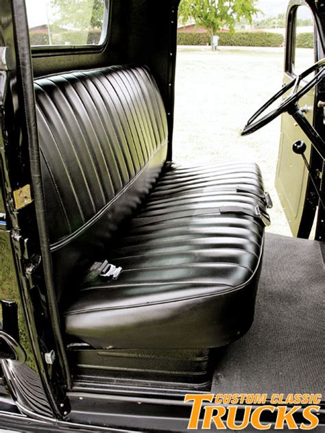 pickup truck bench seat 1946 chevy pickup truck hot rod network