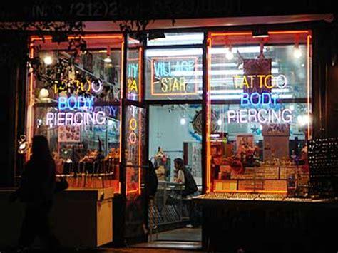 Village Tattoo Nyc New York Ny | village star tattoos and piercings 182 bleecker st