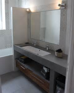 meuble salle de bain une vasque avec deux robinets