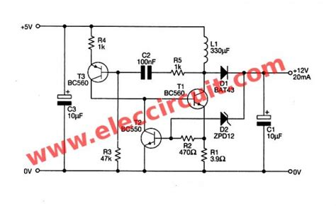 complete the circuit 1 5v 12v inverter schematic get free image about wiring