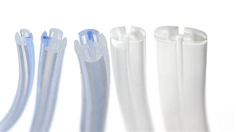 Silicone Drain fluted silicone drains