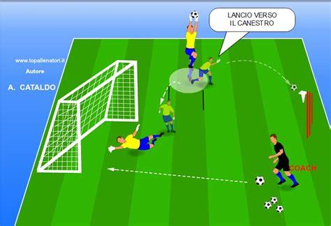 allenamento portiere da calcio esercizi portieri di calcio