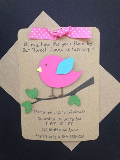 Handmade Birthday Invitation Ideas - 17 best ideas about handmade invitations on