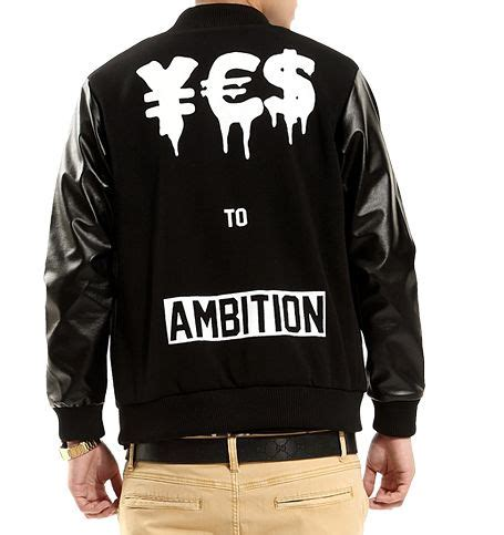 Just Say No To Sleeve Jackets by Ambition Leather Jacket The Levels Warehouse