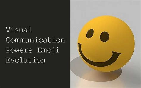 emoji evolution visual communication powers emoji evolution unglueyou