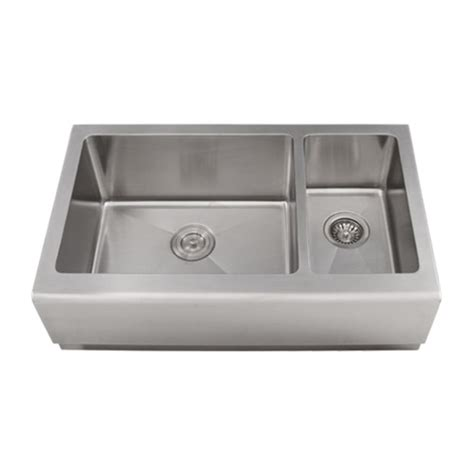 16 stainless steel kitchen sinks ticor 33 quot s4406 apron 16 stainless steel kitchen sink