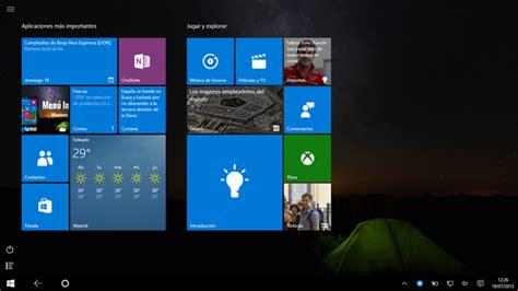 imagenes windows 10 inicio el nuevo men 250 inicio de windows 10 al completo 161 no te