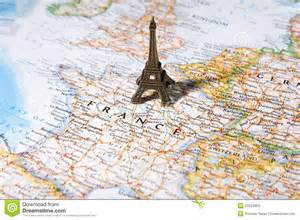 Paris On World Map by Statue Of Eiffel Tower On A Map Paris Most Romantic City