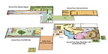 Museum Floor Plan interactive floorplan royal signals museum