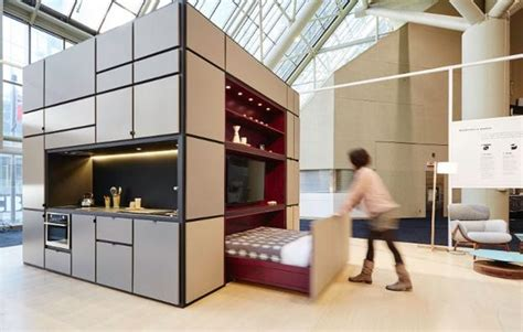 compact home   cube  small spaces