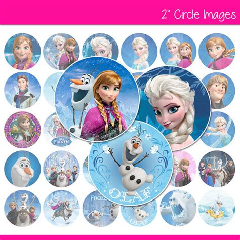 printable disney frozen cupcake toppers 7 best images of frozen disney stickers printable free