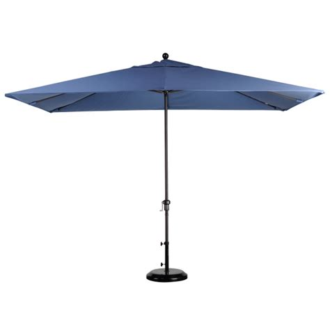 Rectangle Umbrella Patio 11 X 8 Rectangular Aluminum Market Umbrella Leisure Select