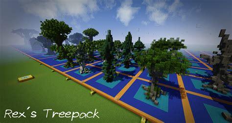 rex 180 s tree pack minecraft project