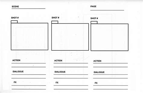script storyboard template a sport communicator s guide to on a budget