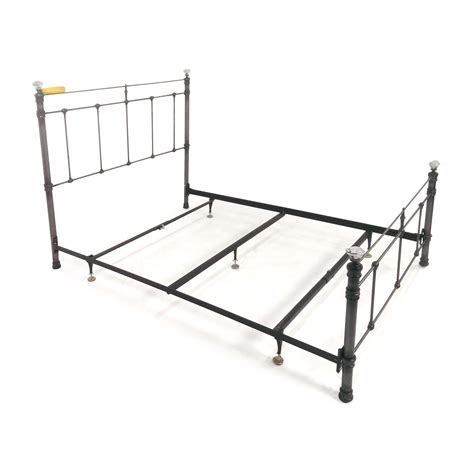 pottery barn bed frame 72 off pottery barn pottery barn claudia queen metal bed beds