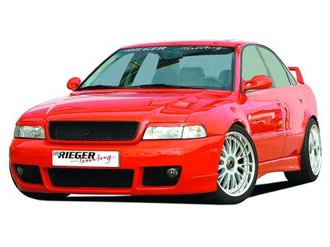 Audi A4 B5 Rs4 Body Kit by Rieger Body Kit Rs4 Front Bumper For Audi A4 S4 B5