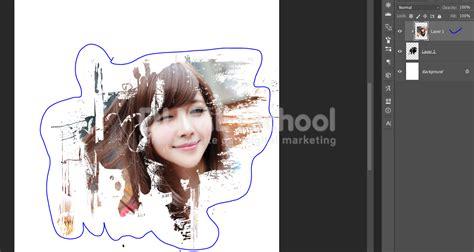 cara edit foto efek color splash di photoshop cara edit photo dengan efek splash painting photoshop
