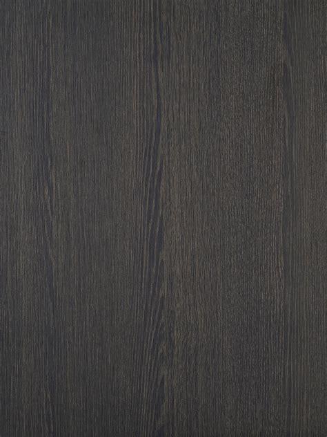 Dark Stained Oak Wood Effect Textured Doors