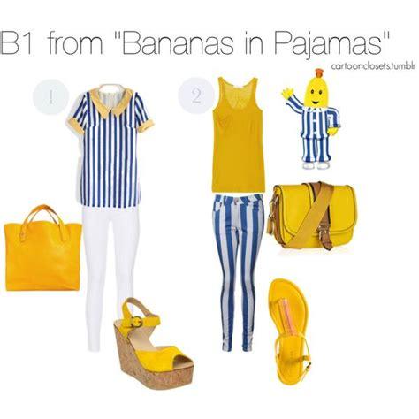 Piyama Banana Navy quot b1 from bananas in pajamas quot by bforbel on polyvore