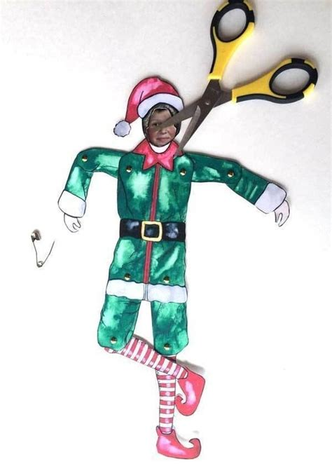 elf yourself printable version elf yourself use this free printable and your picture to