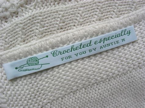 Cloth Labels For Handmade Items - woven clothing labels sew in labels for handmade items
