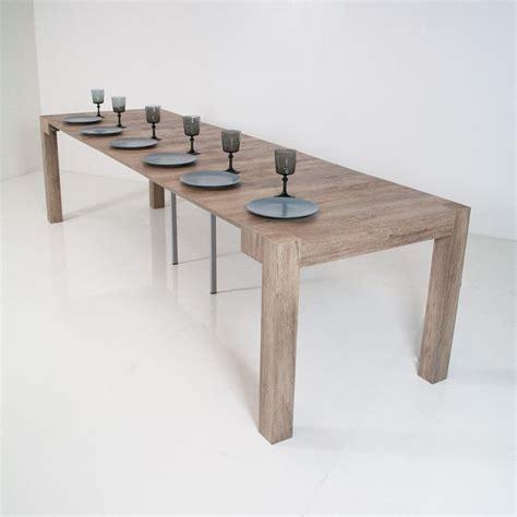 tavolo consolle allungabile legno consolle allungabile look in legno tavolo pranzo fino a 300 cm