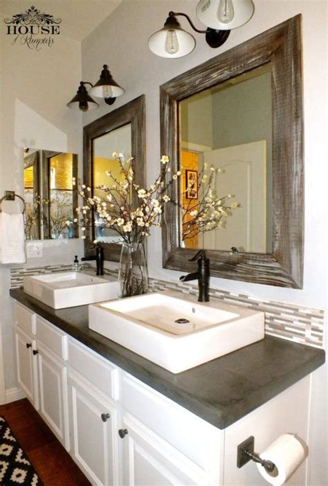 Kitchen Centerpiece Ideas Best 25 Concrete Countertops Bathroom Ideas On Pinterest