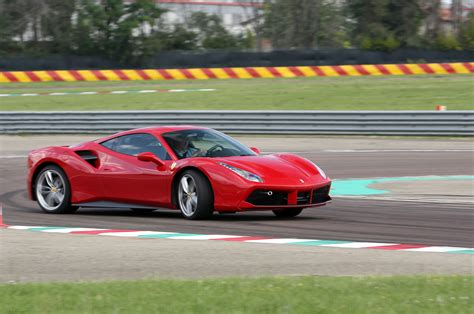 ferrari supercar 2016 watch the 2016 ferrari 488 gtb get thrashed on ignition