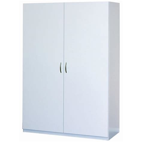 wardrobe storage cabinet white closetmaid 48 in multi purpose wardrobe cabinet in white