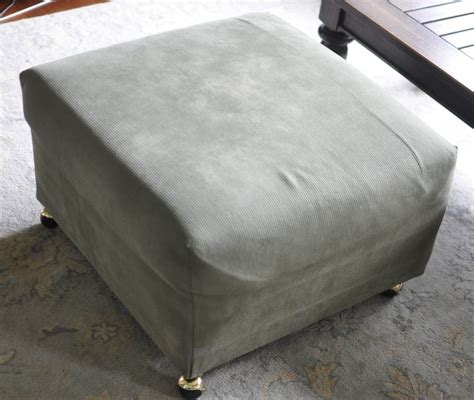 how to reupholster a pillow top ottoman reupholster ottoman top reupholster attached pillow top