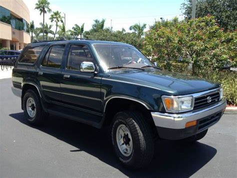 airbag deployment 1994 toyota 4runner transmission control buy used 1994 toyota 4runner sr5 sport utility 4 door 3 0l great shape everything works in