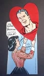 superman valentines vintage superman cards