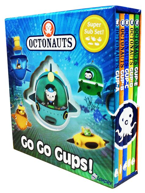 the octonauts underwater adventures box set books octonauts 5 hardback books set pack collection sub