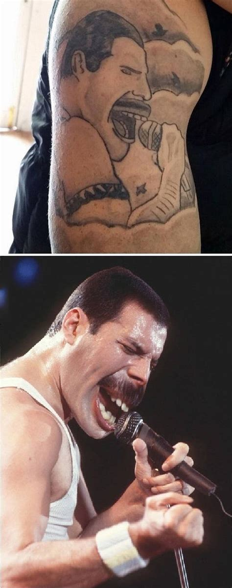 tattoo fail freddie mercury funny pictures july 6 2015