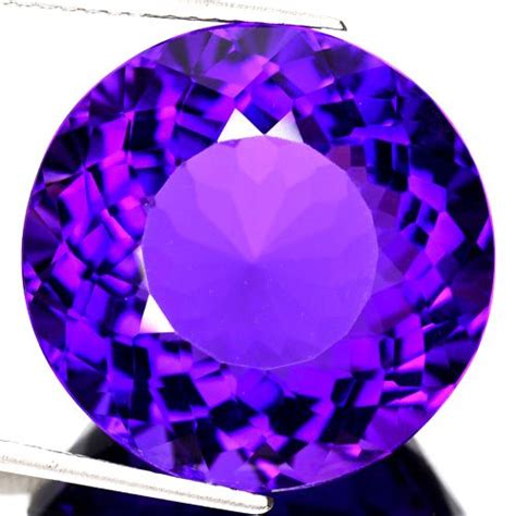 Certified 10 50 Ct Violet Amethyst amethysts hpj ref point ultra 32 06 ct if