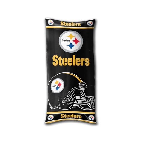 pittsburgh steelers fan shop nfl pittsburgh steelers football folding pillow