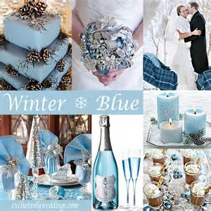 blue wedding color schemes winter wedding what s your color exclusively weddings