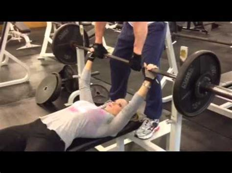 girls bench press bikini girl and the bench press youtube