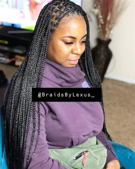 knotless box braids  instagram knotless braids painless tensionless  light weight
