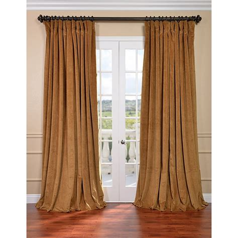Drapes Canada exclusive fabrics furnishing signature doublewide blackout velvet curtain lowe s canada