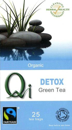 Detox Trading Code by Qi Organic Fairtrade Detox Green Tea Qi