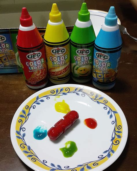different colored ketchup different color ketchup www imagenesmy
