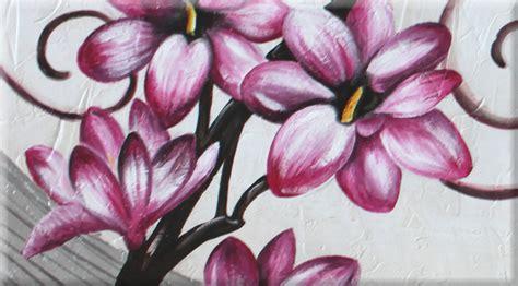dipinti fiori astratti quadri dipinti floreali vendita quadri moderni