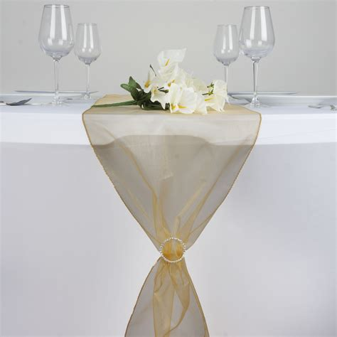 table runners wedding cheap 20 organza 14x108 quot table runners wedding reception