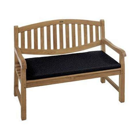 black outdoor benches home decorators collection sunbrella black outdoor bench cushion 9198710210 the home